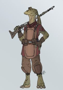 Star Wars - Bombad Scout by Konquistador