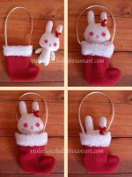 Christmas Bunny Giveaway by VioletLunchell