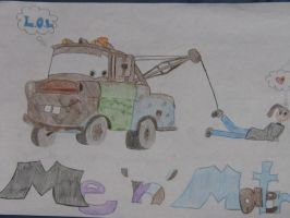 me and mater by Nat-Skellington