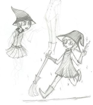 FOP: Timmy the Witch by numbah3