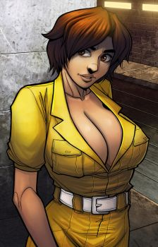 April O'neil by ExMile