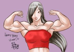 Birthday Lin by Roe by vince3