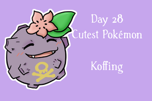 Pokeddexy '13  28/31 Koffing by Sixala