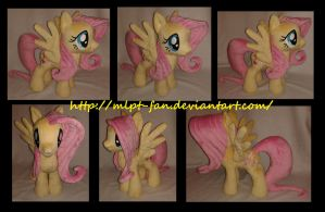 15 inches Fluttershy by calusariAC