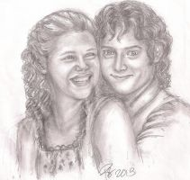 Karolyn and Frodo - for Kennycheer by rstrider9