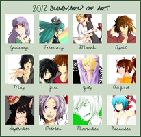 2012 Year of Art Summary by shuuheei