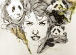 Panda Obsession by M-ine