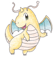 Dragonite by Candy-Swirl