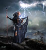 Lightning Caster by AliaChek
