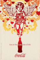 Cupid on the Coke Side of Life by Coca-Cola-ArtGallery