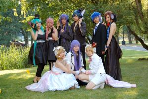Vocaloid: Group Magnet by all-natural-me