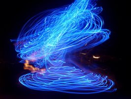spinning lights 2 by Salma-H