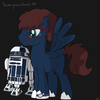 Scorpiontorn's OC by CDThorne