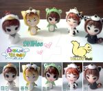 SHINee Hello Baby polymer clay by yuisama