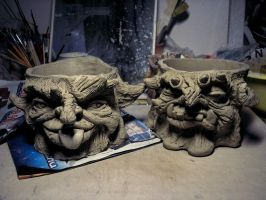 Flowerpots 2 wip by DarkMask