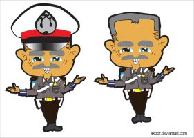 Wise Police Cartoon by akoor