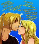 Edward x Winry by FeatherGuitar