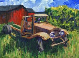 My 1931 International Truck by RandySprout