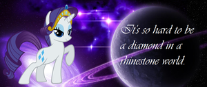 Diamond in a rhinestone world! by nemo-kenway