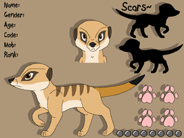 Meerkat Reference Sheet: Pup by PancakeShiners
