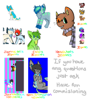 Commision's Sheet by Ghosts-N-Stuffs