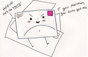 Fat Mail by Kitty-goes-rawr