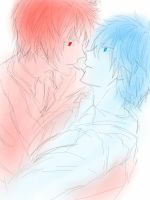 Akakuro is my KnB OTP by DudeItsNikki
