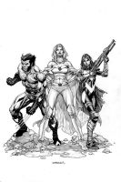 The X-Trio! by IbraimRoberson