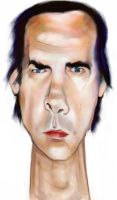 nick cave by Schorer