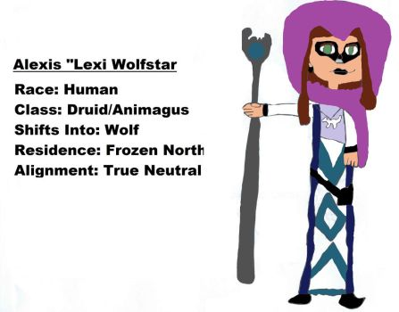 Lexi Wolfstar--Sample Character by Doctor-of-W