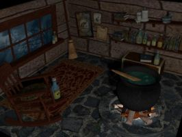 3D Potions Room by Draco-McWherter