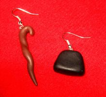 First Doctor earrings by StregattaPuponzi