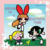 Spring is Beautiful Time by Kasumi9