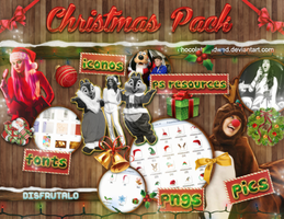 +Christmas Pack   +60 watchers! by ChocolateAndWeed