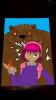 Annie and Tibbers by MsTrinaMarsh