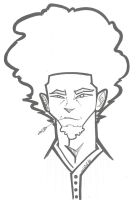 Man with a Fro by jb12234211