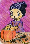 Pumpkin Carving by TaintedTruffle