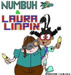 Numbuh Two and Laura- old by RisanF