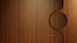 Wood Rainmeter With Appbar 1920x1080 by greyjasper