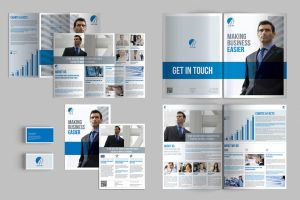 Brochure Stationery Templates by andre2886