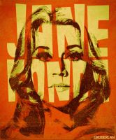 Retro Jane Fonda by roberlan