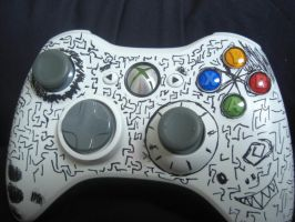 drawn on xbox white by The-Red-Right-Hand