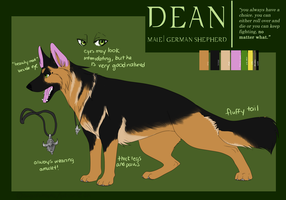 Dean reference by americaneagIe