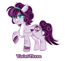 Adopt Pony - 04-  [ Open] Violet Three by 00-Adopt-me-00