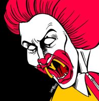 Ronald McDonalds by Latuff2