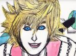 Roxas - Watercolor by TheArtistAsian