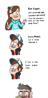 Don't be Stupid Dipper by TheCheeseburger