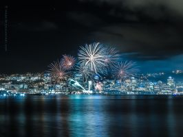 City Fireworks by MaxK-W