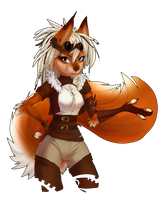 steampunk squirrel by Orphen-Sirius