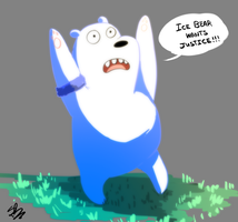 We Bare Bears | Ice Bear by spenzbowart